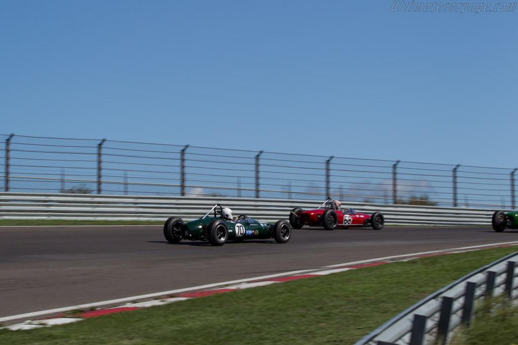 Cooper T76 - Chassis: F3-15-65 - Driver: Mauro Poponcini  - 2015 Historic Grand Prix Zandvoort