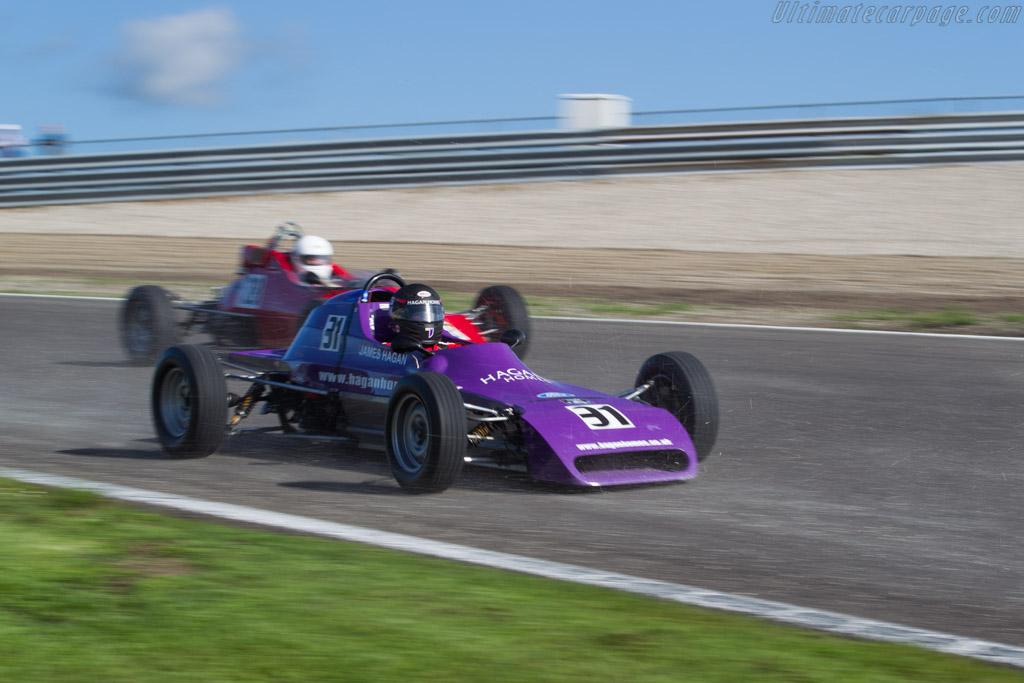 Crossle 32F - Chassis: 32F78-6 - Driver: James Hagan  - 2015 Historic Grand Prix Zandvoort