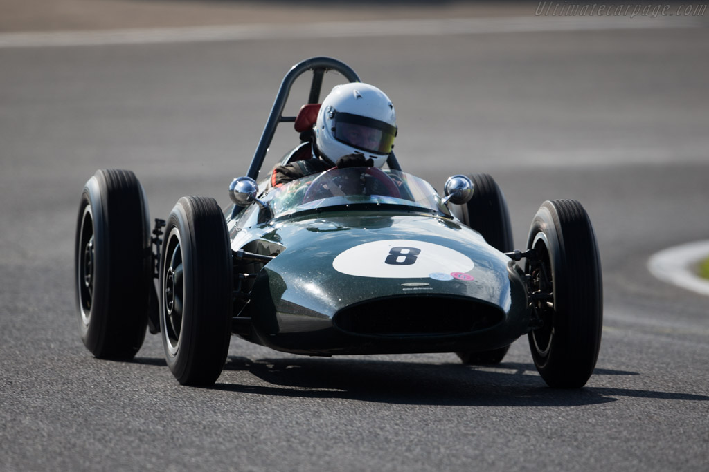 Emeryson - Chassis: 1004 - Driver: Albert Streminski  - 2015 Historic Grand Prix Zandvoort