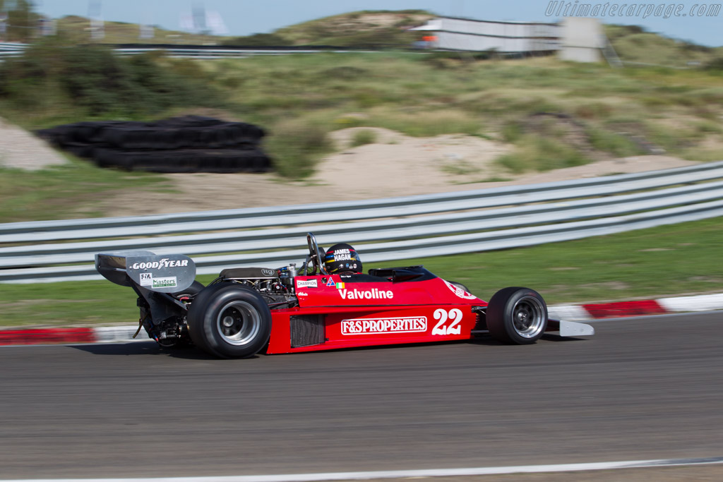 Ensign N177 Cosworth - Chassis: MN09 - Driver: James Hagan  - 2015 Historic Grand Prix Zandvoort