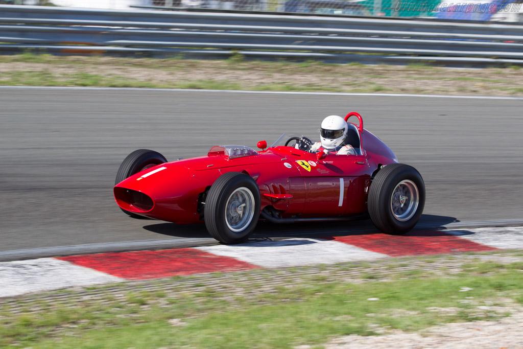 Ferrari 246 Dino F1 - Chassis: 0007 - Driver: Tony Smith  - 2015 Historic Grand Prix Zandvoort