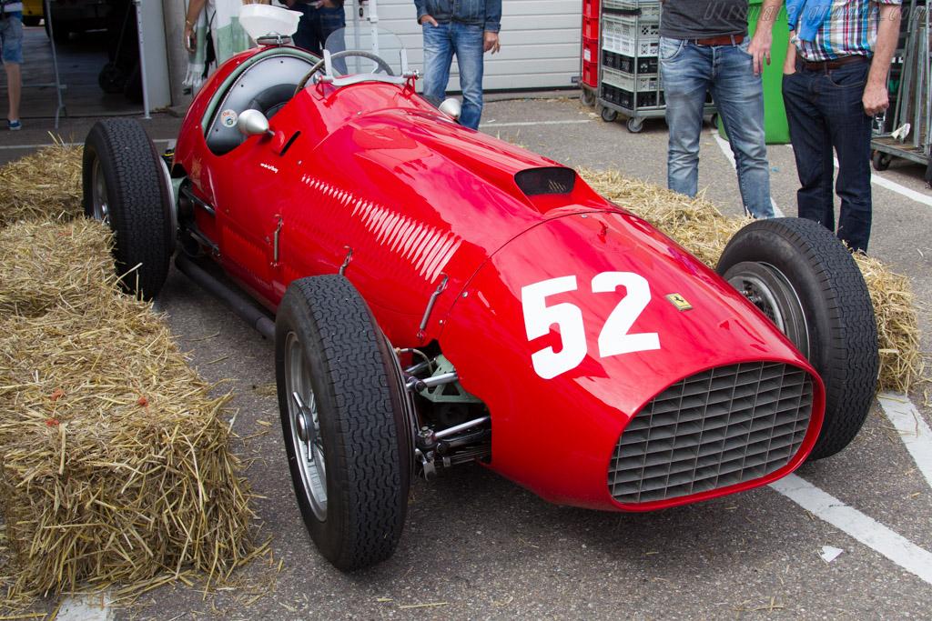 Ferrari 340 F1 - Chassis: 125-C-04 - Driver: Alexander van der Lof  - 2015 Historic Grand Prix Zandvoort