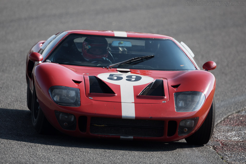 Ford GT40 - Chassis: GT40P/1022 - Driver: Diego Ferrao  - 2015 Historic Grand Prix Zandvoort