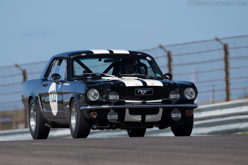 Ford Mustang  - Driver: Christian Dumolin  - 2015 Historic Grand Prix Zandvoort