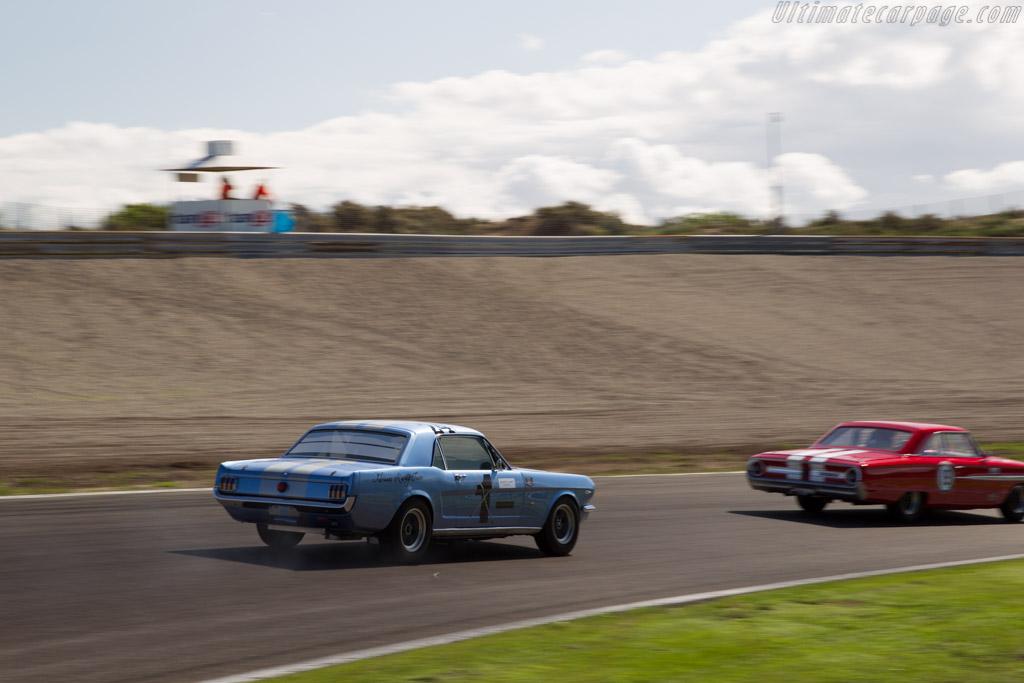 Ford Mustang  - Driver: Armand Adriaans  - 2015 Historic Grand Prix Zandvoort