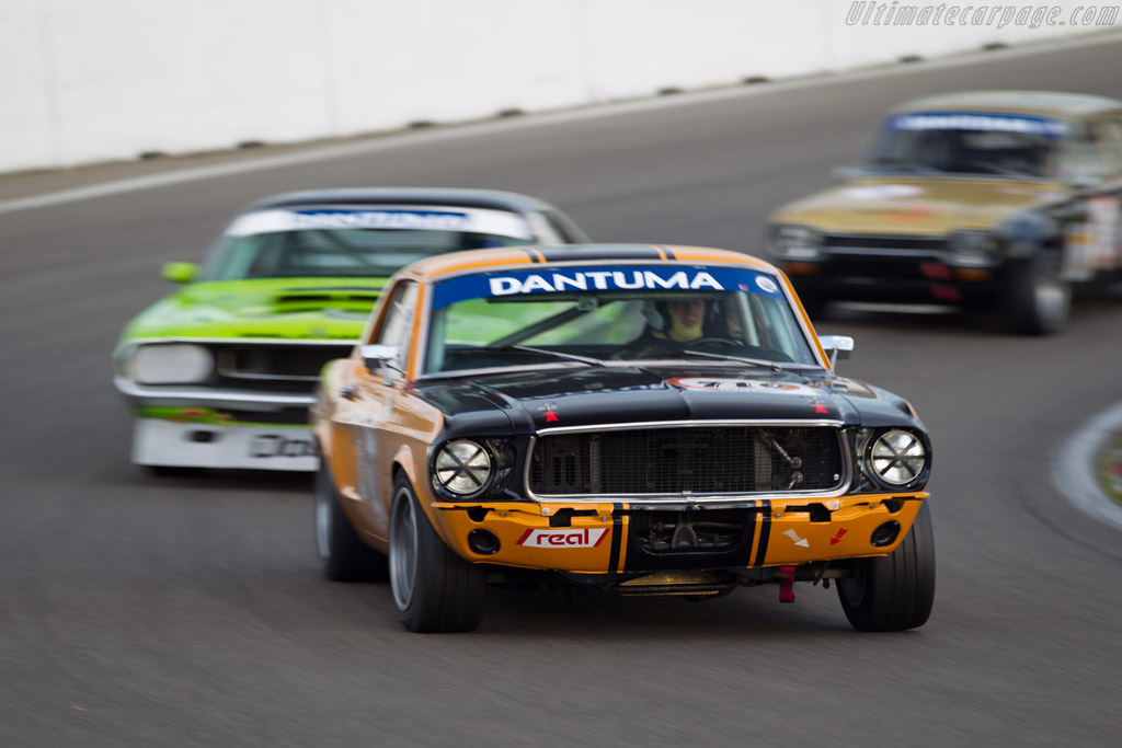 Ford Mustang Group 2  - Driver: Carlo Hamilton  - 2015 Historic Grand Prix Zandvoort