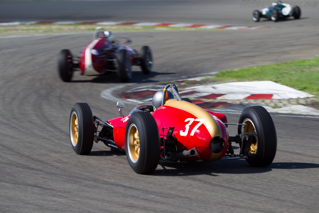 Heron F1 - Chassis: 1 - Driver: Eddy Perk  - 2015 Historic Grand Prix Zandvoort