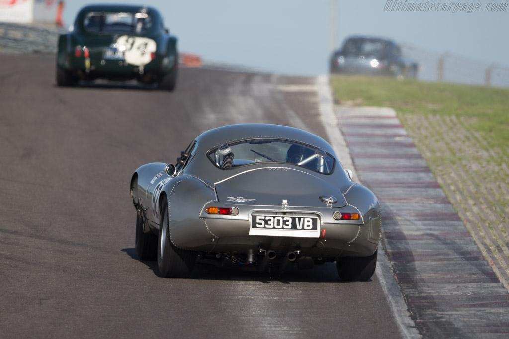 Jaguar E-Type  - Driver: Julian Thomas / Nigel Greensall  - 2015 Historic Grand Prix Zandvoort