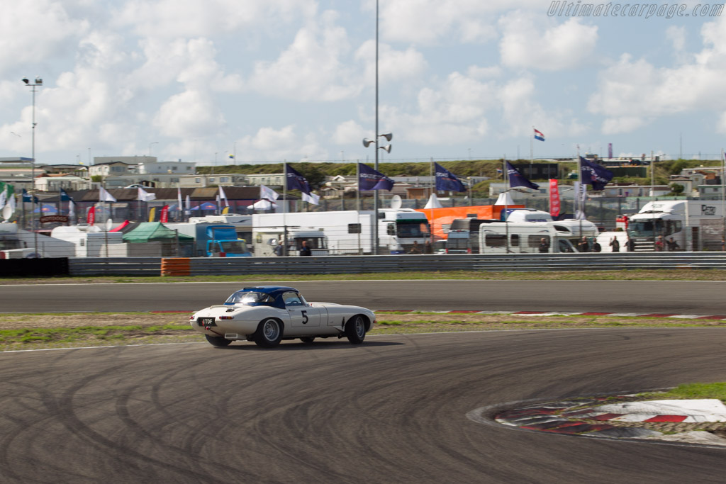 Jaguar E-Type - Chassis: 878454 - Driver: Carlos Monteverde / Gary Pearson  - 2015 Historic Grand Prix Zandvoort