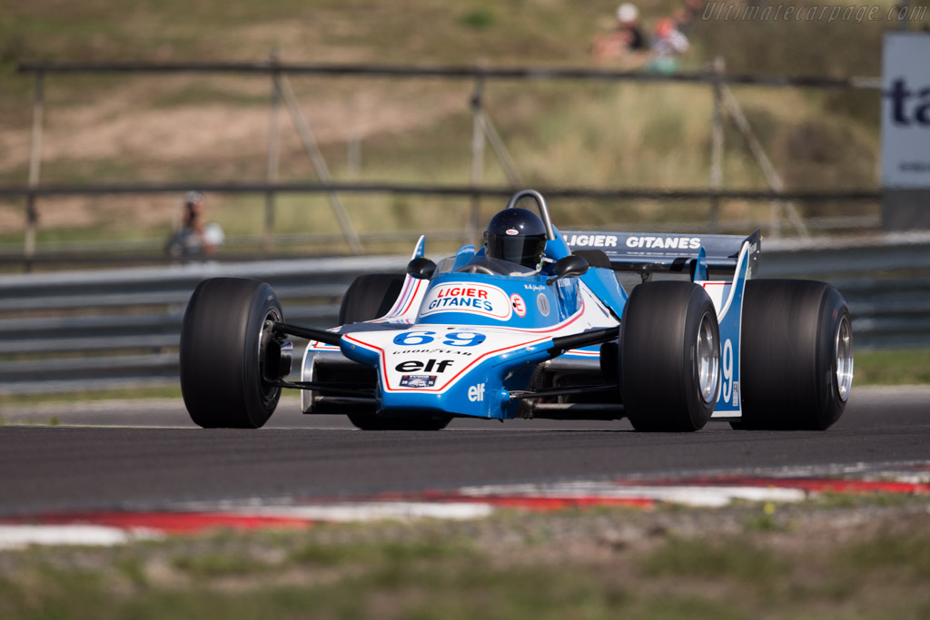 Ligier JS11 Cosworth - Chassis: JS11/04 - Driver: Mr John of B.  - 2015 Historic Grand Prix Zandvoort