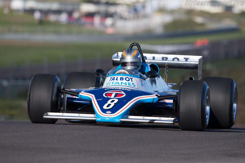 Ligier JS17 Matra - Chassis: JS17/04 - Driver: Rob Hall  - 2015 Historic Grand Prix Zandvoort