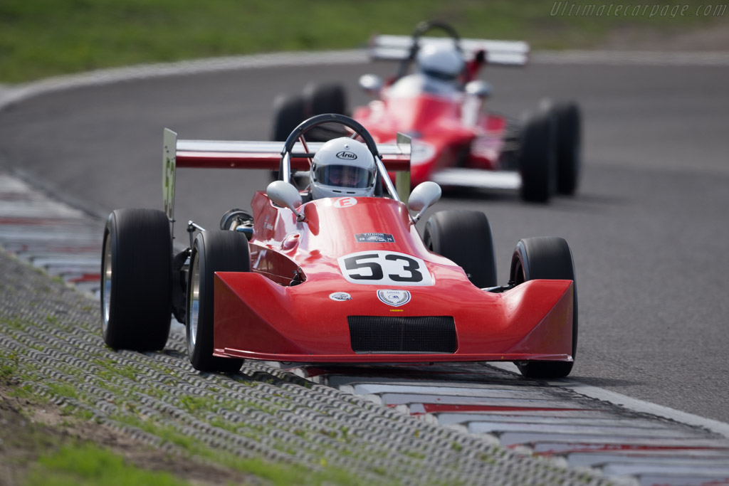 Lola T580  - Driver: Erle Minhinnick  - 2015 Historic Grand Prix Zandvoort