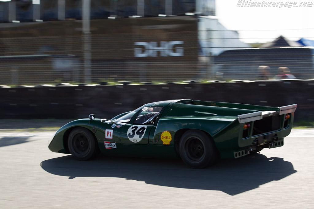 Lola T70 Mk3B Chevrolet - Chassis: SL76/147 - Driver: David Hart  - 2015 Historic Grand Prix Zandvoort