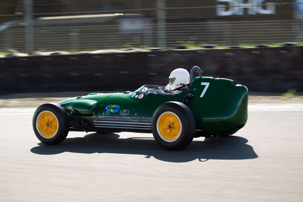 Lotus 16 Climax - Chassis: 364 - Driver: Marshall Bailey  - 2015 Historic Grand Prix Zandvoort