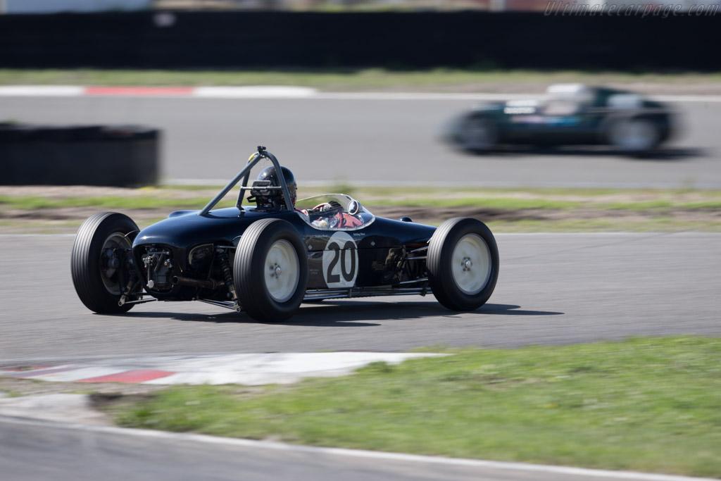 Lotus 18 Climax - Chassis: 912 - Driver: Stephen Bond  - 2015 Historic Grand Prix Zandvoort
