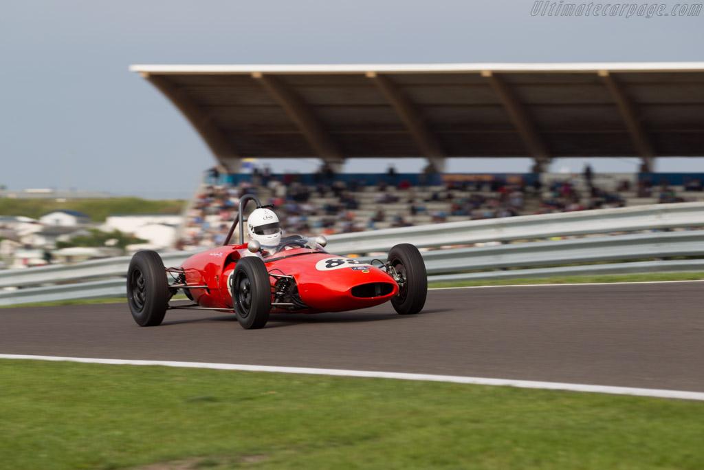 Lotus 20B - Chassis: 20J-953 - Driver: Mark Pangborn  - 2015 Historic Grand Prix Zandvoort