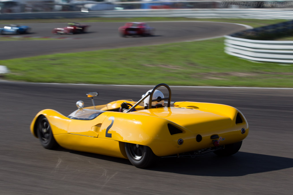 Lotus 23B - Chassis: AM109 - Driver: Marshall Bailey  - 2015 Historic Grand Prix Zandvoort