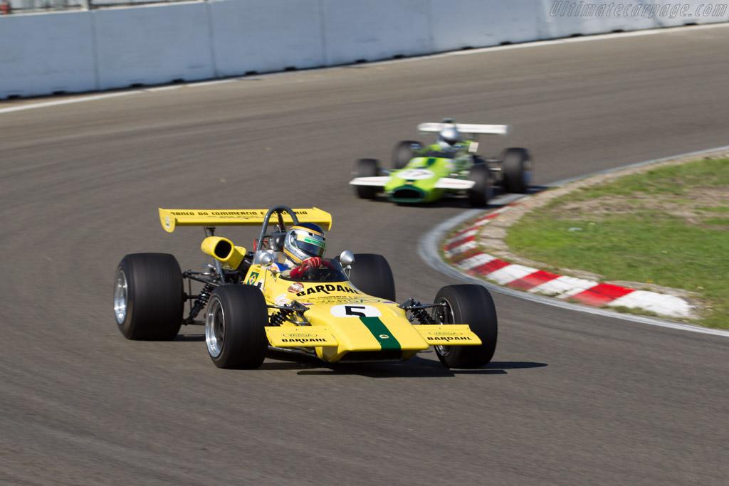 Lotus 69 - Chassis: 7169-5-F2 - Driver: Roger Bevan  - 2015 Historic Grand Prix Zandvoort