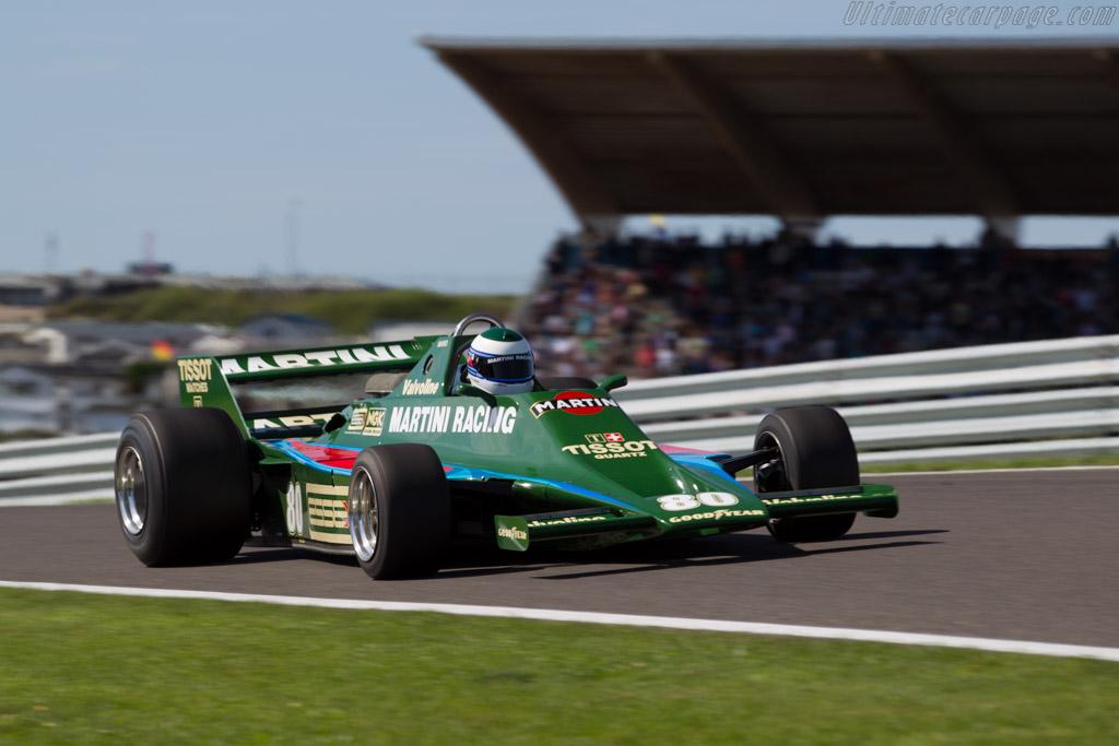 Lotus 80 Cosworth - Chassis: 80/1 - Driver: Manfredo Rossi di Montelera  - 2015 Historic Grand Prix Zandvoort