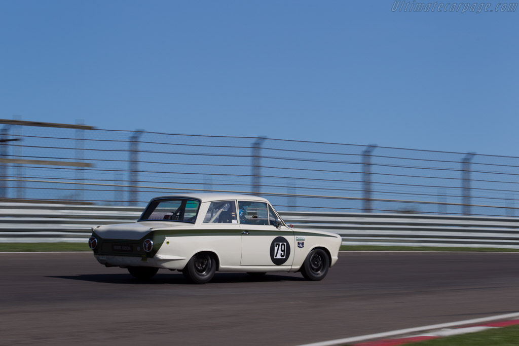 Lotus Cortina  - Driver: Mark Martin  - 2015 Historic Grand Prix Zandvoort