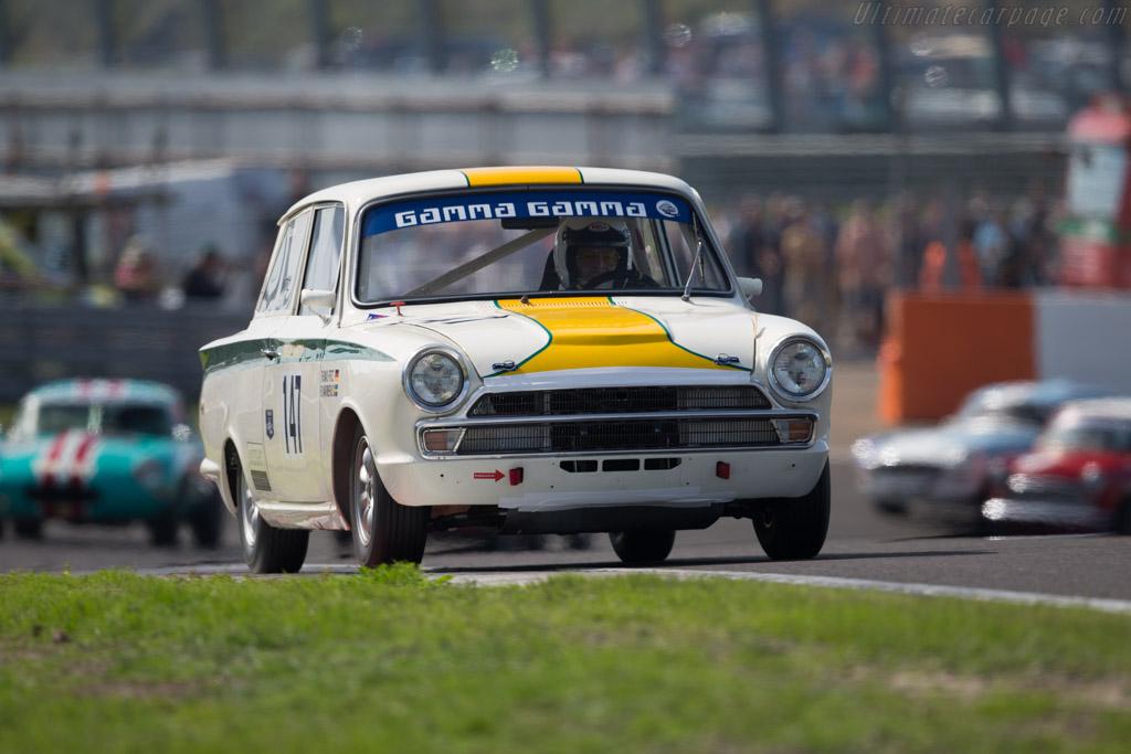 Lotus Cortina  - Driver: Thomas Fritz / Bo Warmenius  - 2015 Historic Grand Prix Zandvoort