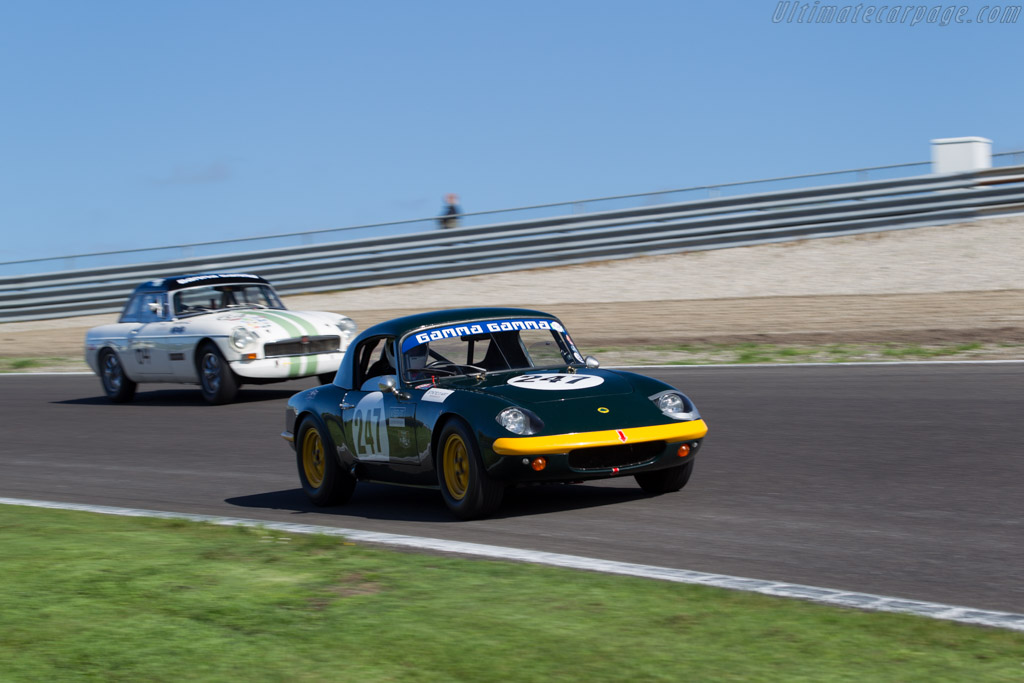 Lotus Elan  - Driver: Thomas Kargus  - 2015 Historic Grand Prix Zandvoort