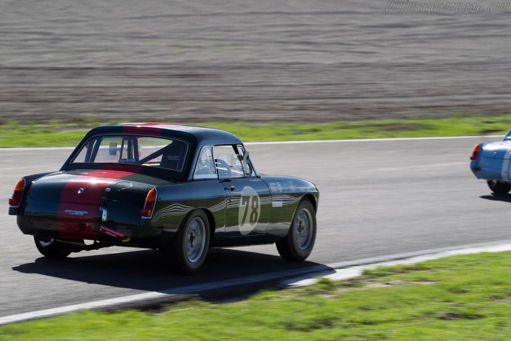 MG B  - Driver: Edwin Dijkman  - 2015 Historic Grand Prix Zandvoort