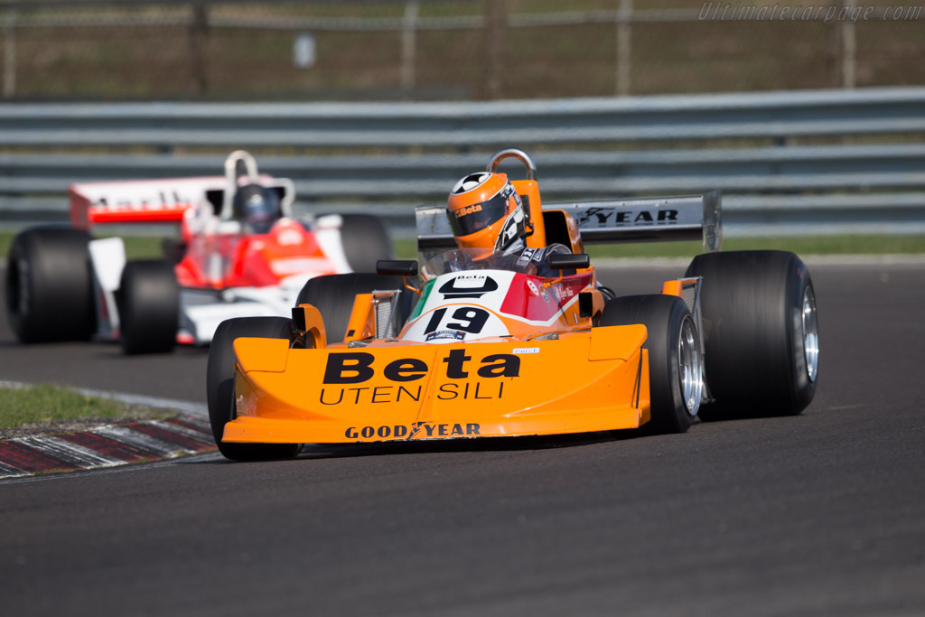 March 761 Cosworth - Chassis: 761-01 - Driver: Robert Blain  - 2015 Historic Grand Prix Zandvoort