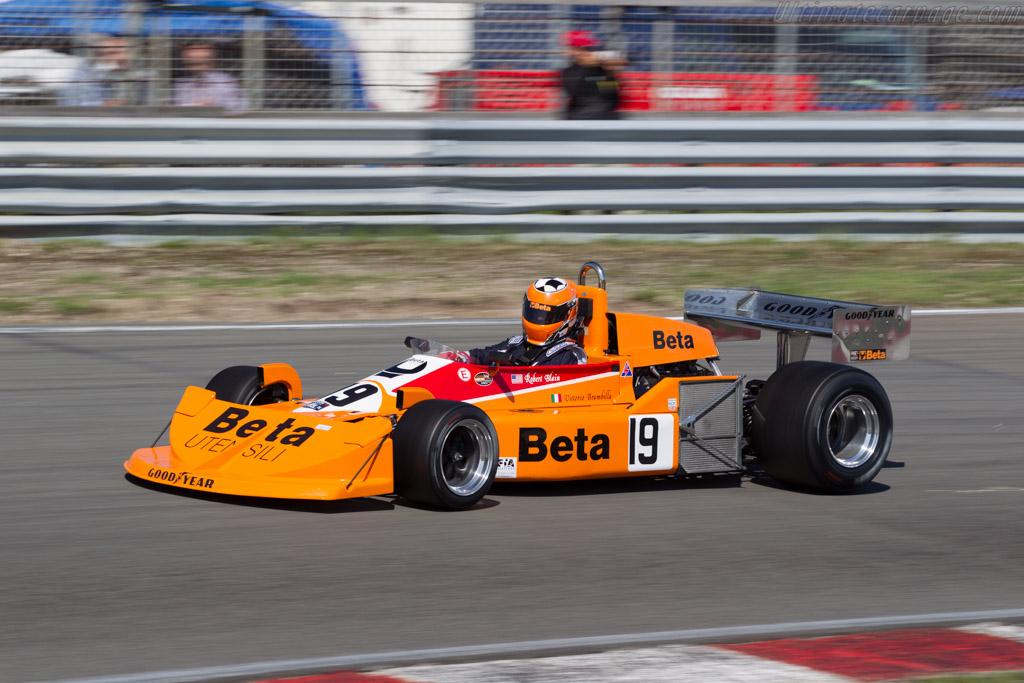 March 761 Cosworth - Chassis: 761-01 - Driver: Robert Blain  - 2015 Historic Grand Prix Zandvoort
