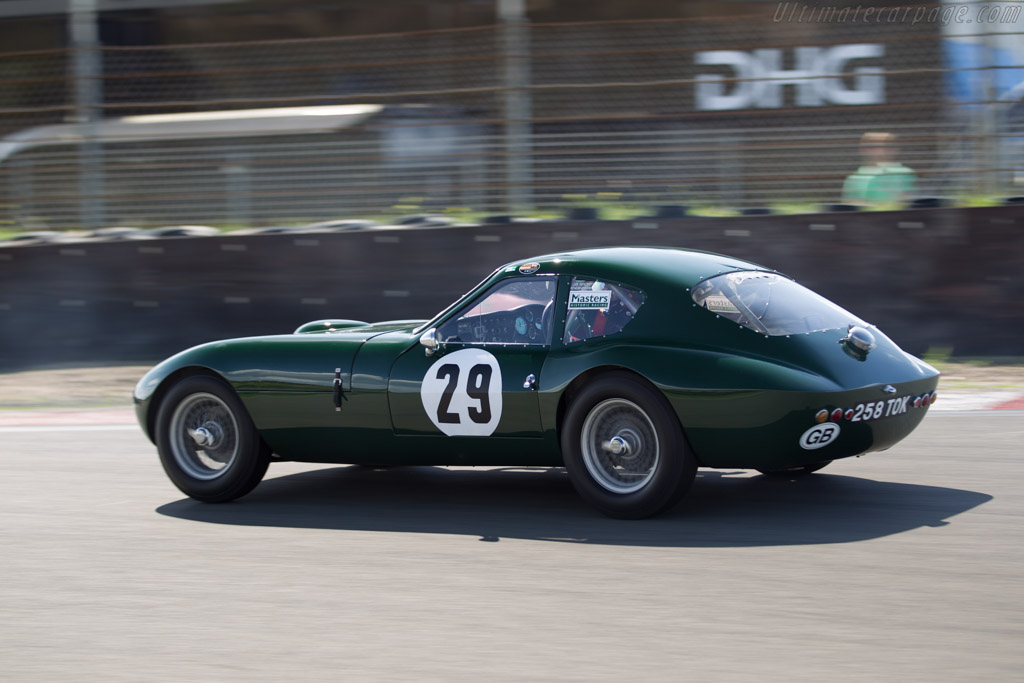 Morgan Plus 4 Slr Chassis Slr3 Driver Keith Ahlers