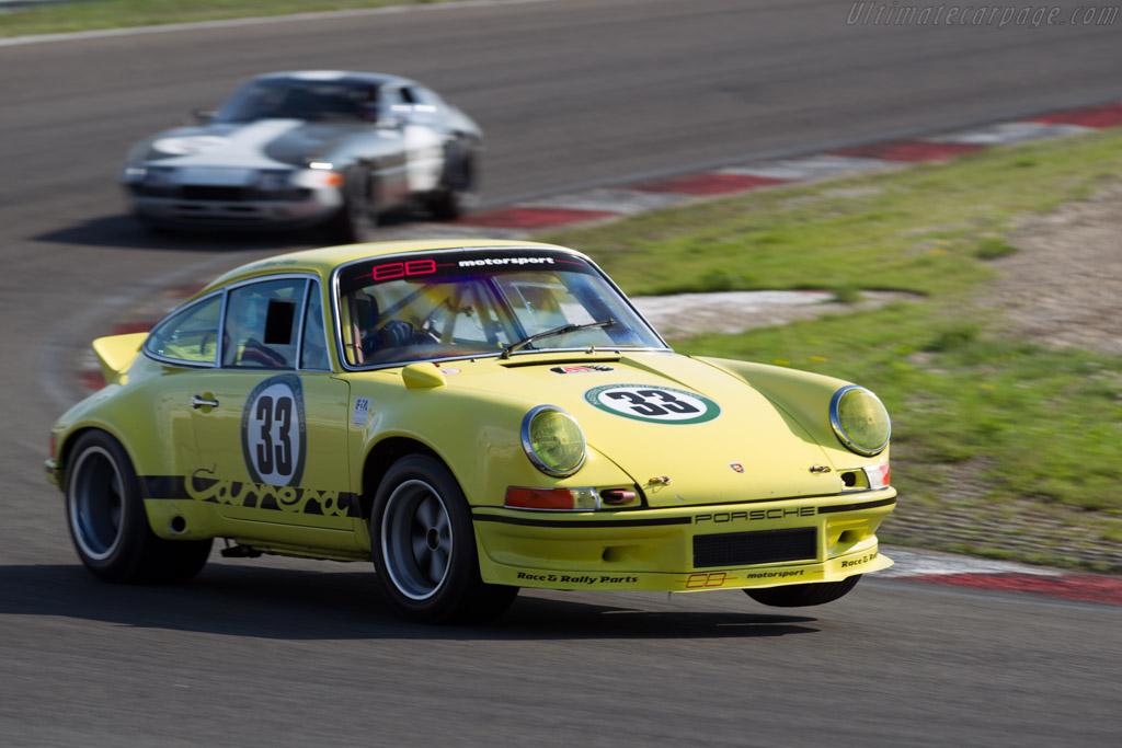 Porsche 911 Carrera RSR  - Driver: Mark Bates  - 2015 Historic Grand Prix Zandvoort