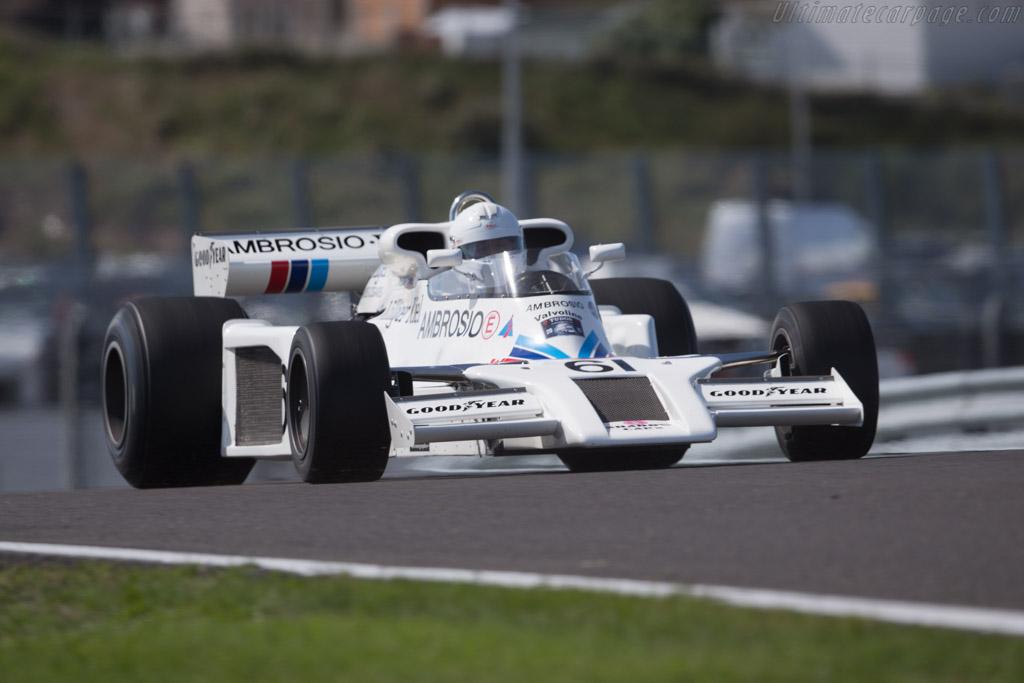 Shadow DN8 Cosworth - Chassis: DN8/6A - Driver: Jason Wright - 2015 Historic Grand Prix Zandvoort