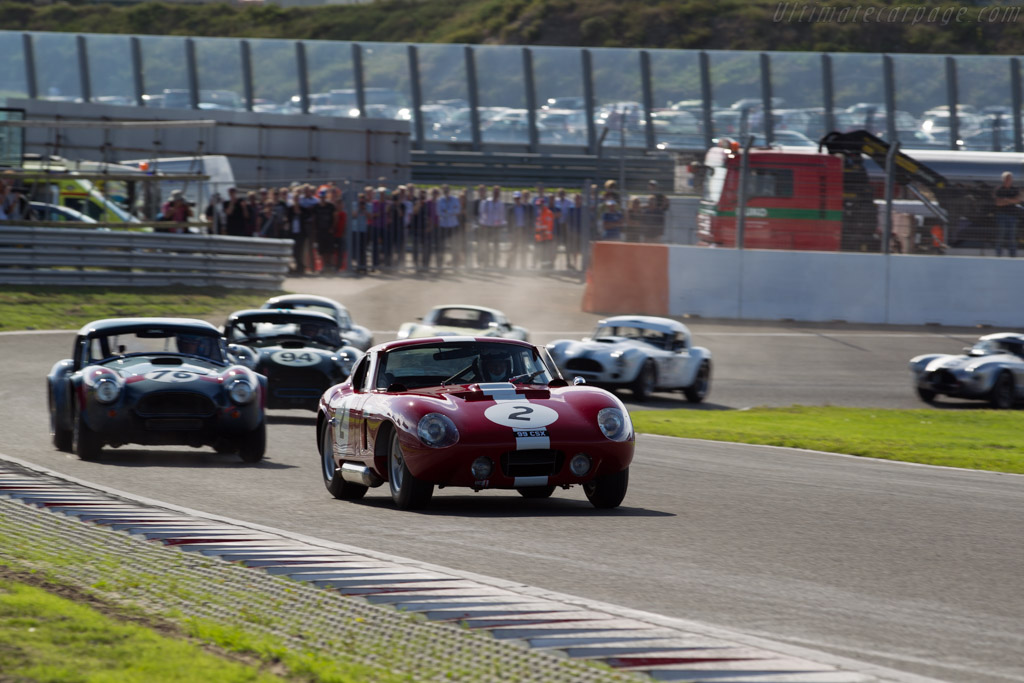 Shelby Cobra Daytona  - Driver: Leo Voyazides / Simon Hadfield  - 2015 Historic Grand Prix Zandvoort
