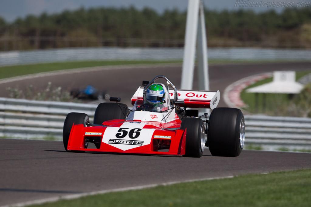 Surtees TS9B Cosworth - Chassis: TS9-004 - Driver: Nick Padmore - 2015 Historic Grand Prix Zandvoort