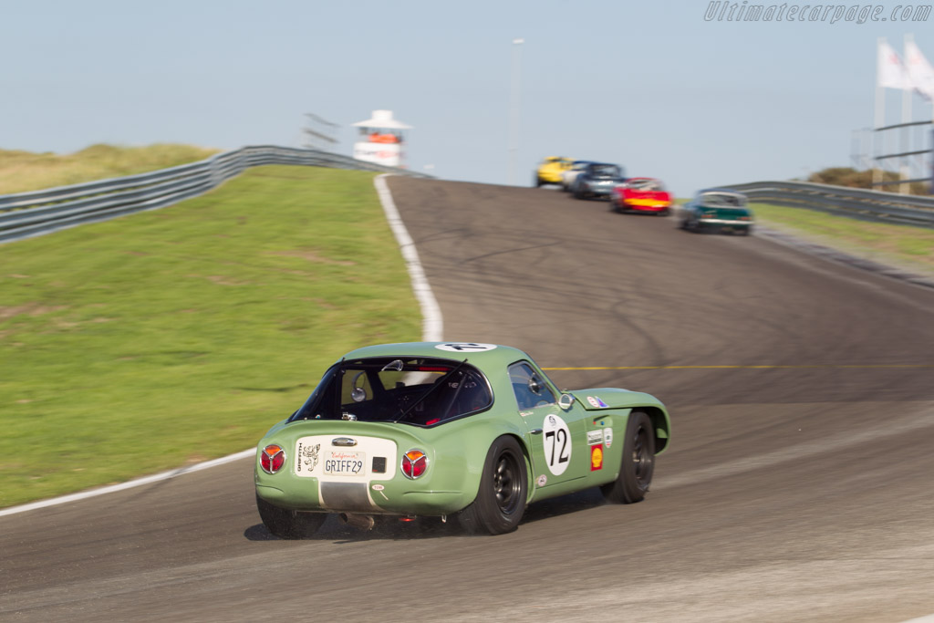 TVR Griffith  - Driver: Jamie Boot  - 2015 Historic Grand Prix Zandvoort