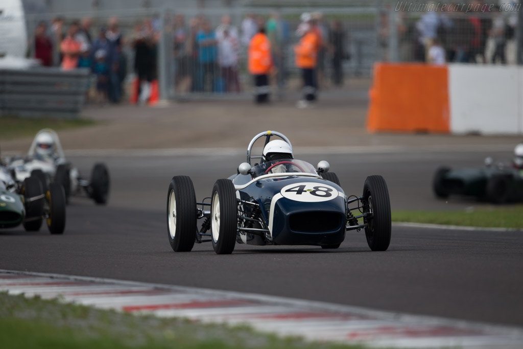 Tecno F3  - Driver: Philippe Bonny  - 2015 Historic Grand Prix Zandvoort