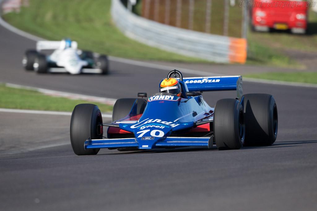 Tyrrell 010 Cosworth - Chassis: 010-3 - Driver: Loic Deman - 2015 Historic Grand Prix Zandvoort