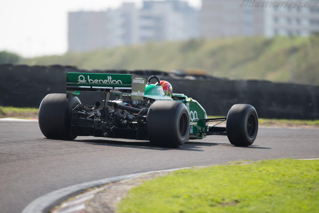 Tyrrell 011 Cosworth - Chassis: 011-6 - Driver: Andy Wolfe  - 2015 Historic Grand Prix Zandvoort