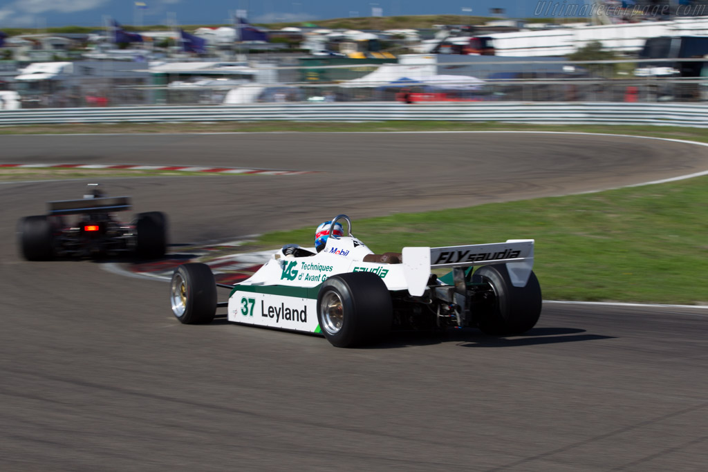 Williams FW07C Cosworth - Chassis: FW07C/11 - Driver: Christophe d'Ansembourg  - 2015 Historic Grand Prix Zandvoort