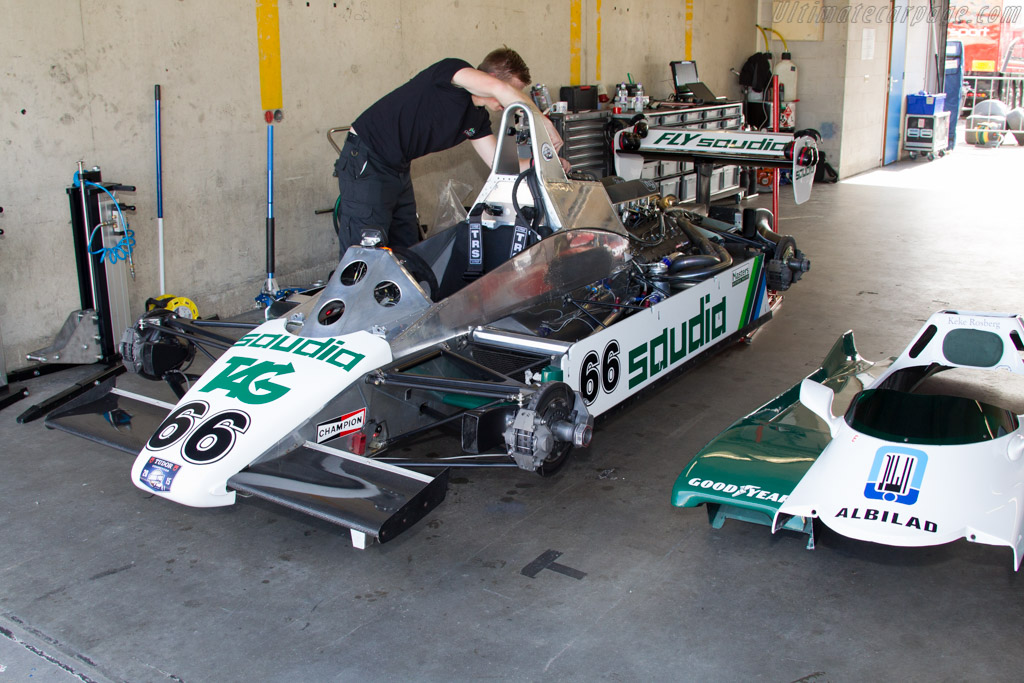 Williams FW08 Cosworth - Chassis: FW08-01 - Driver: Tommy Dreelan  - 2015 Historic Grand Prix Zandvoort