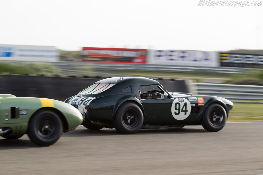 AC Shelby Cobra  - Driver: Michael Gans / Andy Wolfe  - 2016 Historic Grand Prix Zandvoort