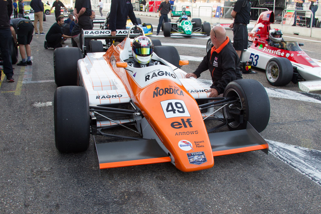 Arrows A5 Cosworth - Chassis: A5-1 - Driver: Neil Glover  - 2016 Historic Grand Prix Zandvoort