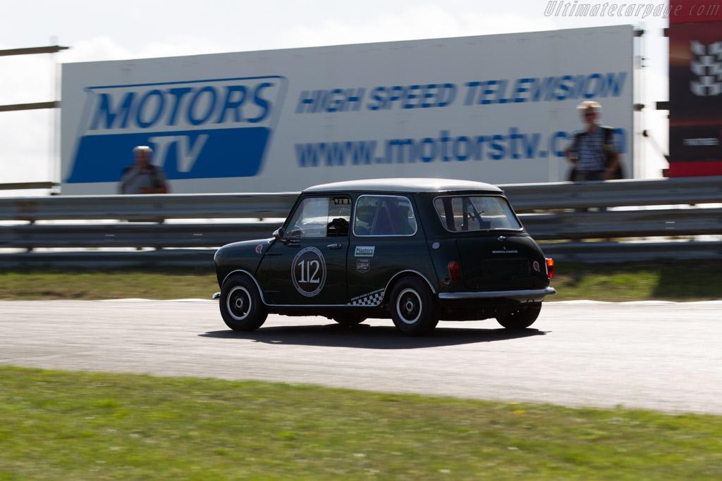Austin Mini Cooper S Driver Bert Mets 2016 Historic Grand Prix