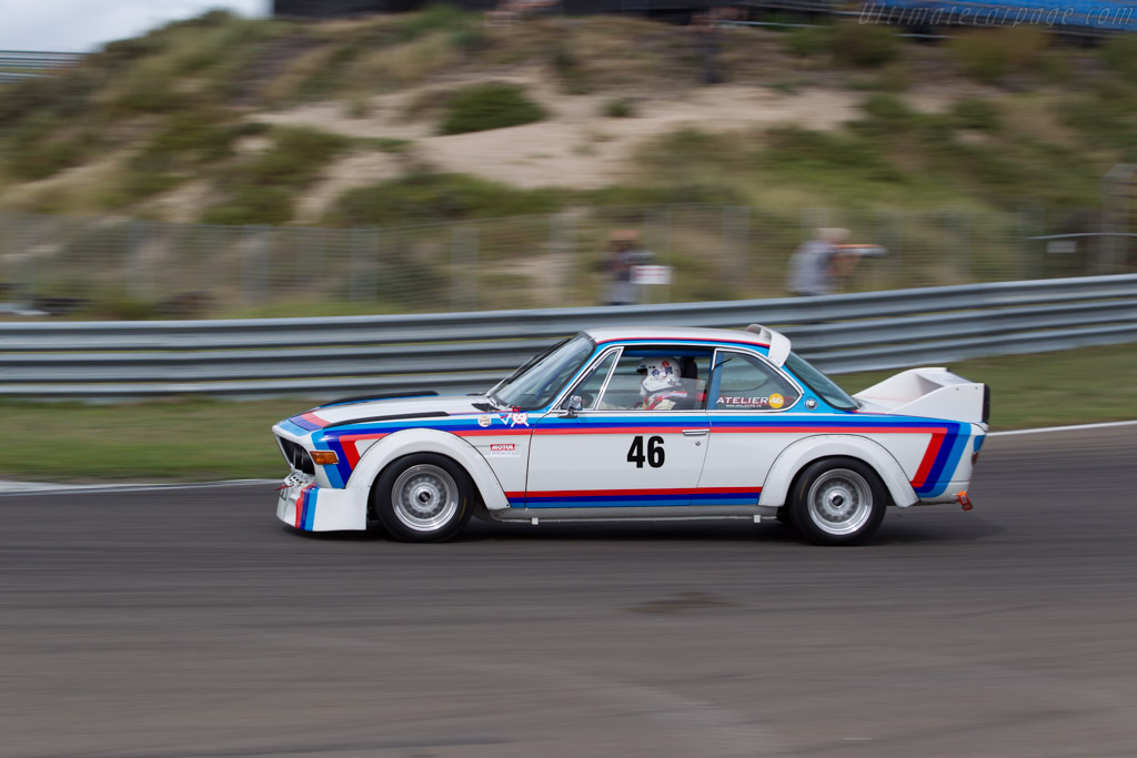 BMW 3.0 CSL  - Driver: Olivier Monot - 2016 Historic Grand Prix Zandvoort
