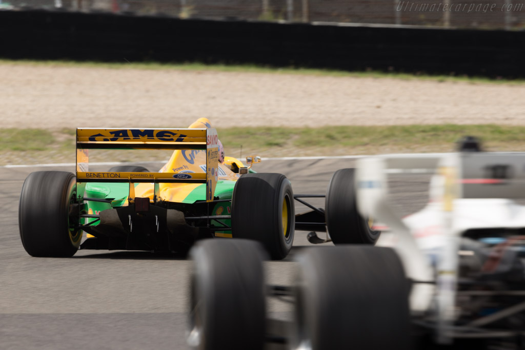 Benetton B192 Cosworth - Chassis: B192-8 - Driver: Lorina McLaughlin  - 2016 Historic Grand Prix Zandvoort