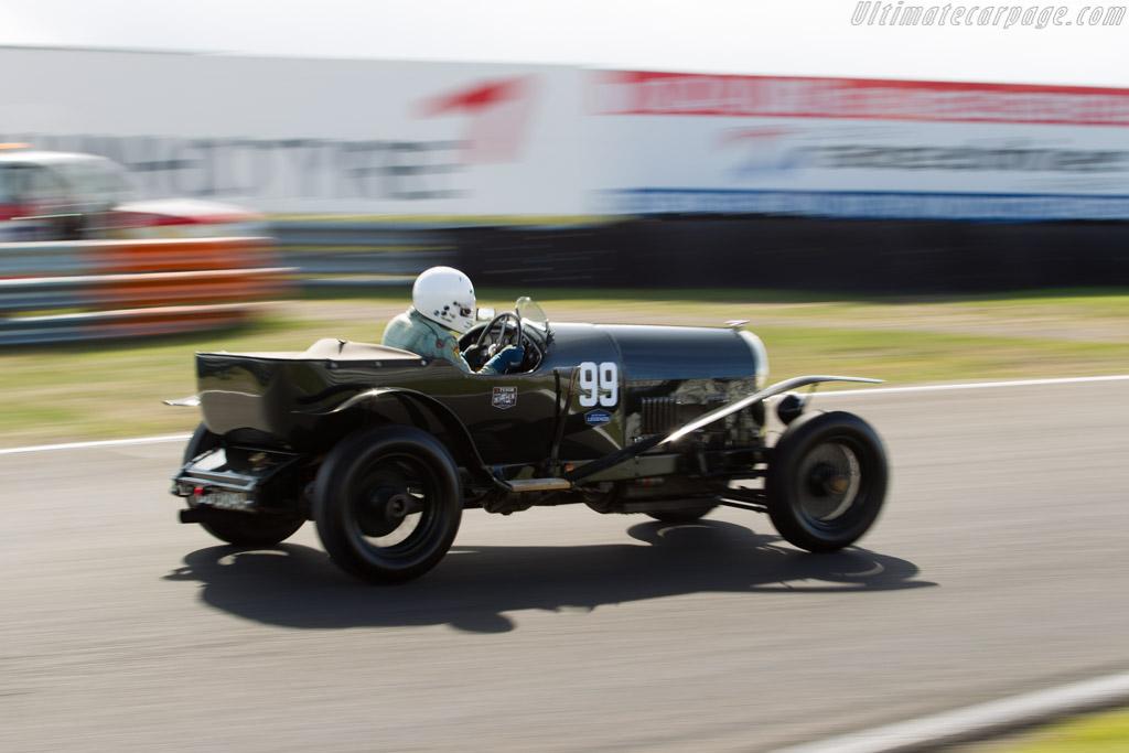 Bentley 3-4½-Litre - Chassis: 835 - Driver: Ewen Getley  - 2016 Historic Grand Prix Zandvoort