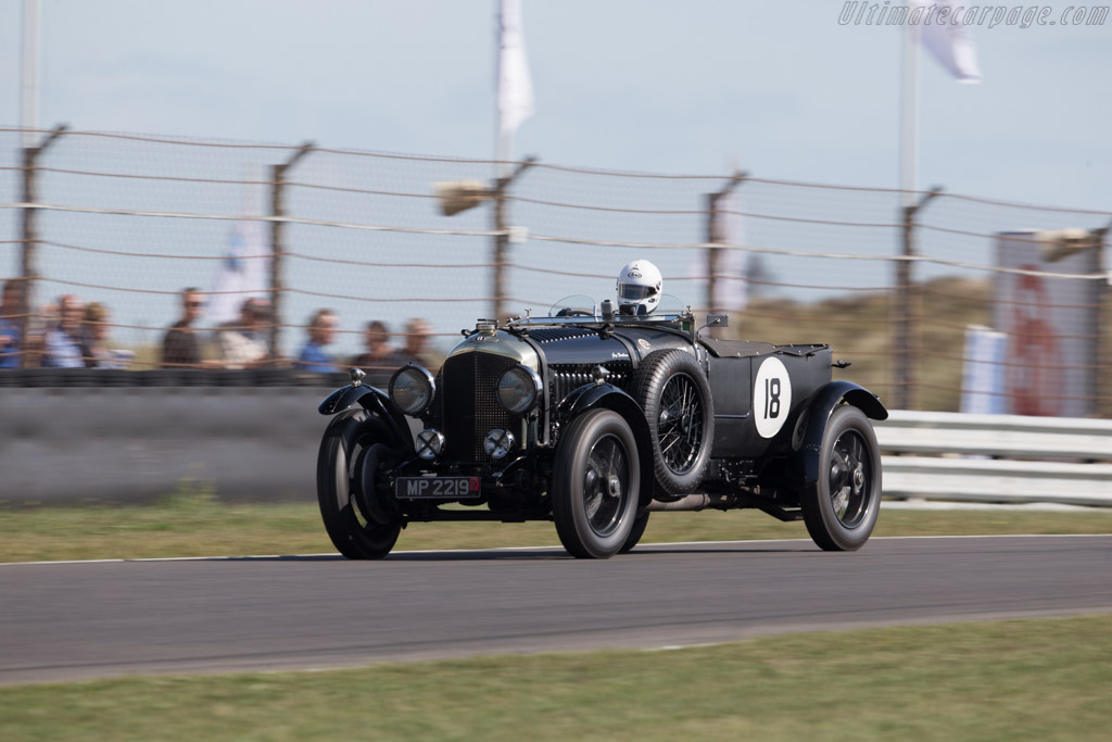 Bentley 4½-Litre - Chassis: RN3042 - Driver: Guy Northam  - 2016 Historic Grand Prix Zandvoort