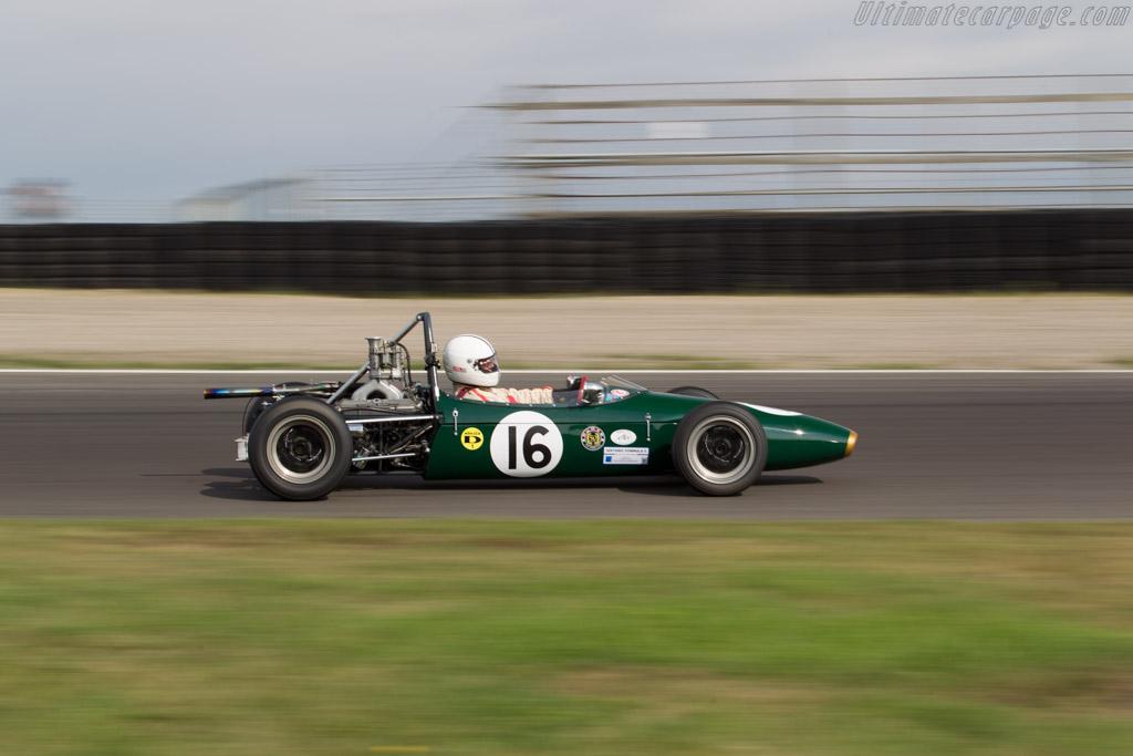 Brabham BT15 - Chassis: F3-21-65 - Driver: Robert Retzlaff  - 2016 Historic Grand Prix Zandvoort