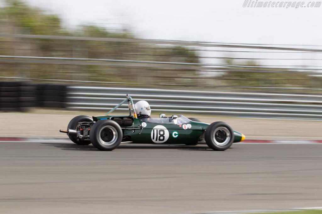 Brabham BT18 - Chassis: F2-21-66 - Driver: Timothy Kuchel  - 2016 Historic Grand Prix Zandvoort