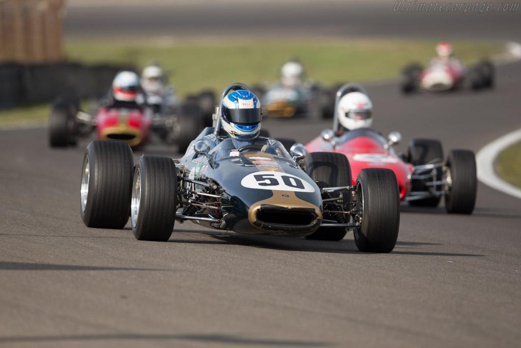 Brabham BT21 - Chassis: BT21-5 - Driver: Jim Timms  - 2016 Historic Grand Prix Zandvoort